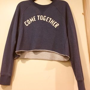 BlueAbercrombie and Fitch Crop Top